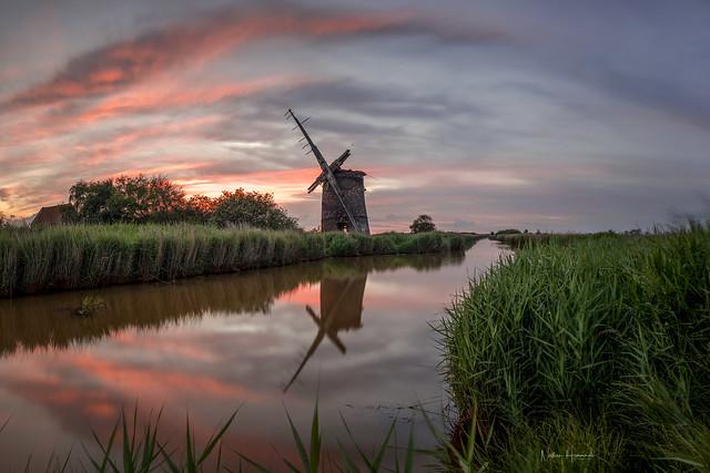 Bosgrove Mill Sunset