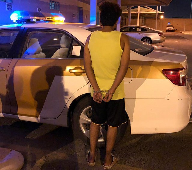 5662 A Saudi arrested for filming girls in indecent positions