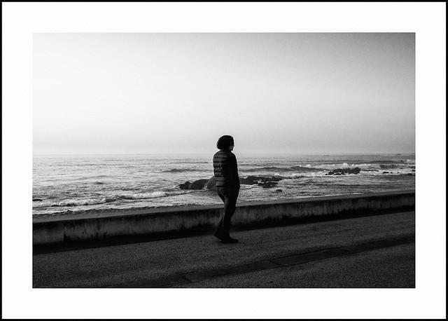 savoring the sea air