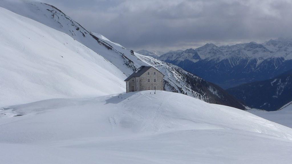 Sesvenna Hütte Sesvenna Itálie foto 06
