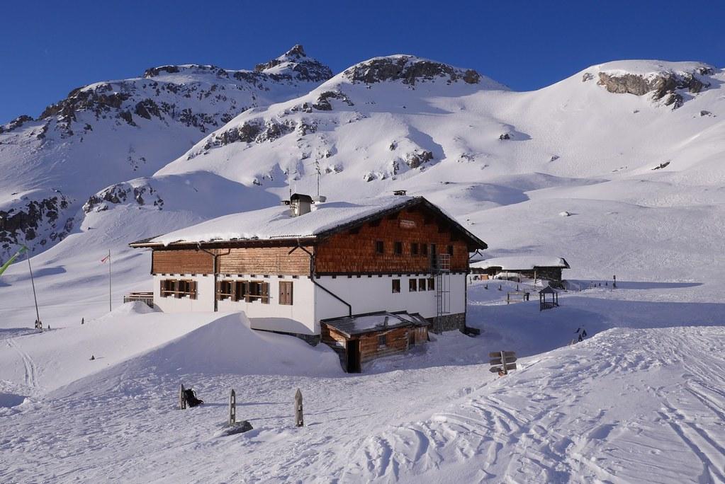 Sesvenna Hütte Sesvenna Itálie foto 01