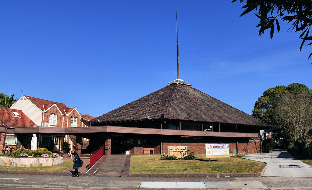 Our Lady of Fatima Catholic Church, Bexley North, Sydney, NSW.