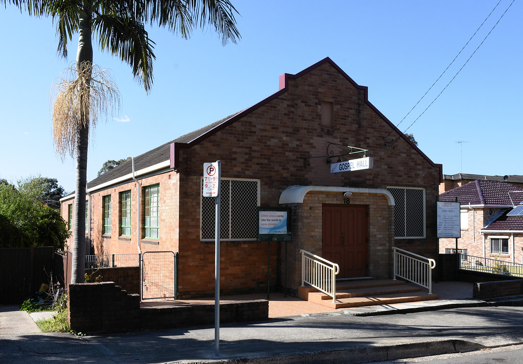 Gospel Hall, Bexley, Sydney, NSW.