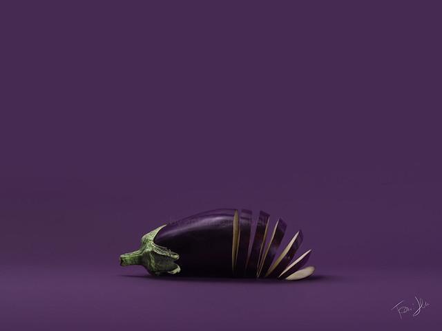 ..aubergine 🍆