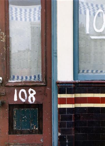 Cafe, Southwark Bridge Rd,The Borough, 1991 TQ3279-012