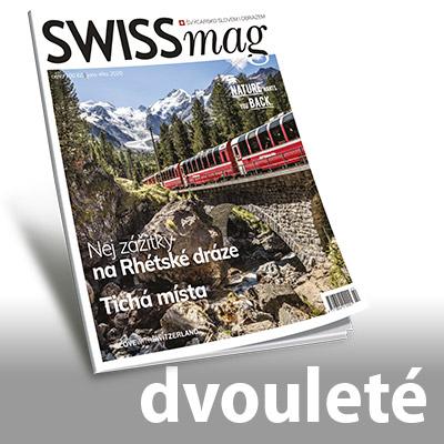 SWISSmag předplatné č. 24 až 27 (dvouleté)