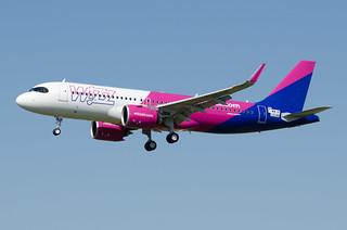 F-WWIN / HA-LJE - Airbus A320-271 NEO - Wizz Air - msn 10046