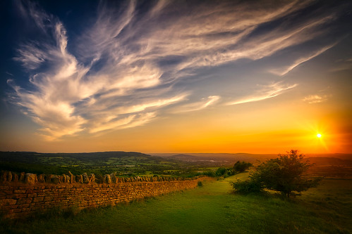 gloucester gloucestershire cotswolds sunset