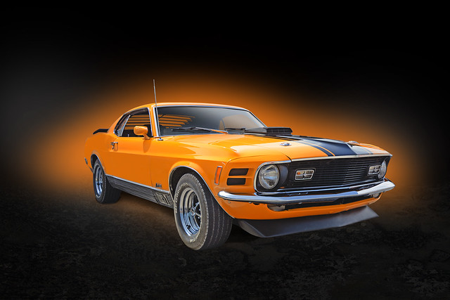 Orange Thunder - 1970 Mustang Mach 1 351 Cleveland