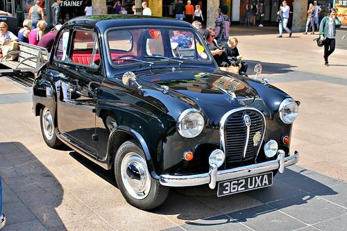 austin british 1950s bmc a35 coventry2016 362uxa