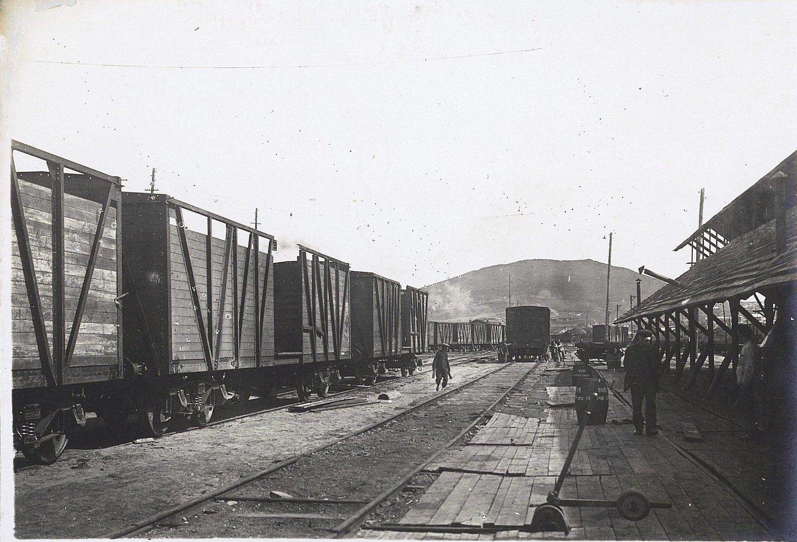 115. Подача вагона под последующую сборку и склёпку