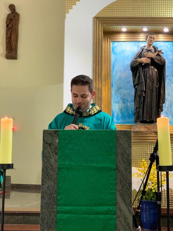 Missa de posse do Padre Lucas Gobbo, cr como administrador da Paróquia São Geraldo - Ponte Grande