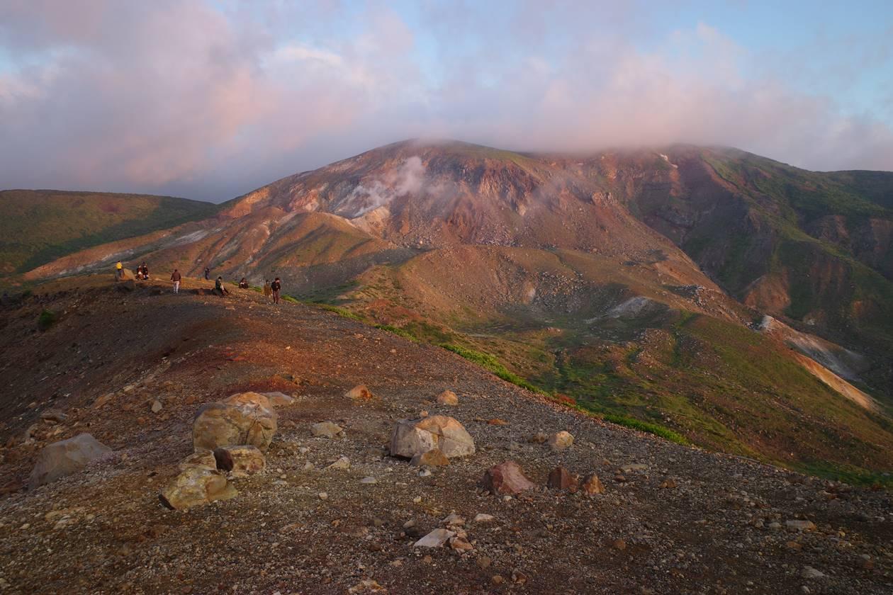 吾妻小富士から眺める一切経山