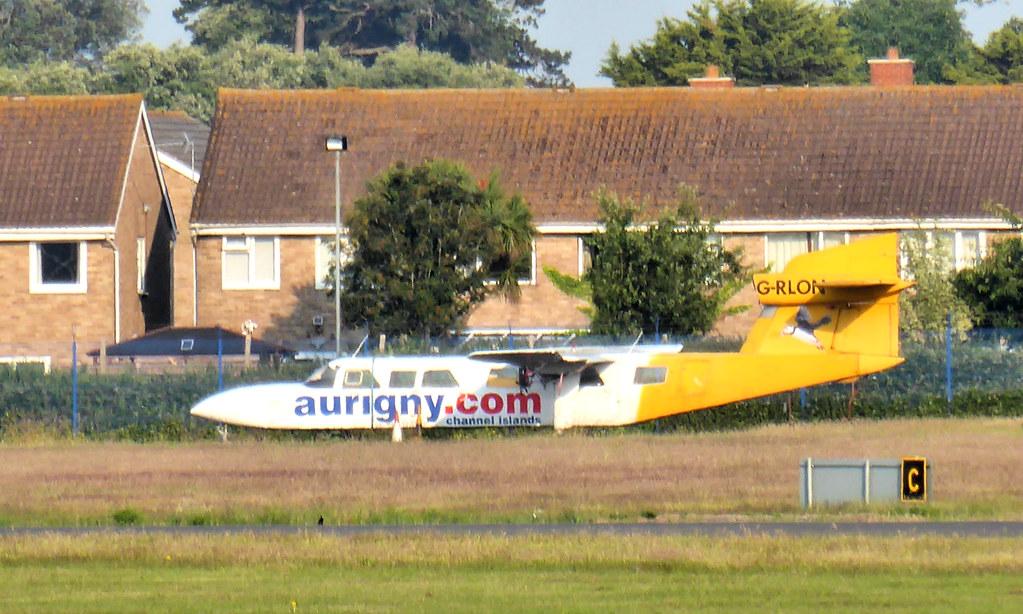 G-RLON at Solent Airport - 24 June 2020