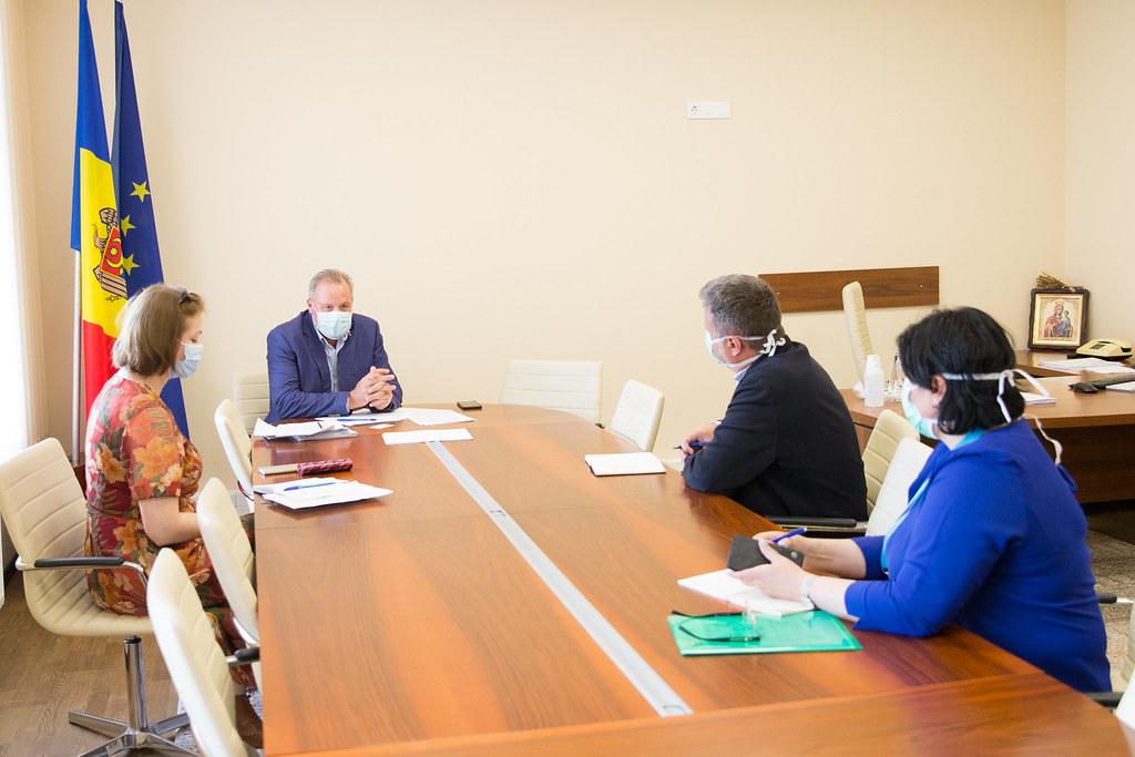 24.06.2020 Ședința de lucru a președintelui Comisiei protecție socială, sănătate și familie