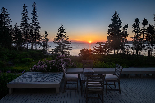 Sunset from the deck | by Don Seymour