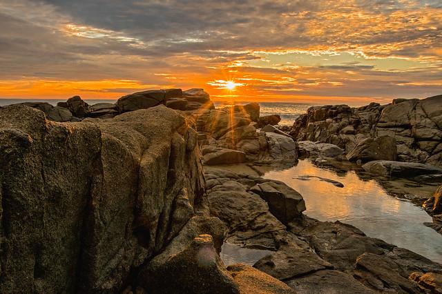 Sunrise at Second Bay, Coolum.