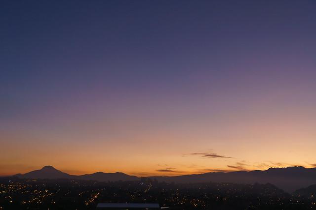 Sunrise Amanecer Quito