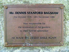 He Made the Desert Smile Again - a tribute to Dennis Bagshaw