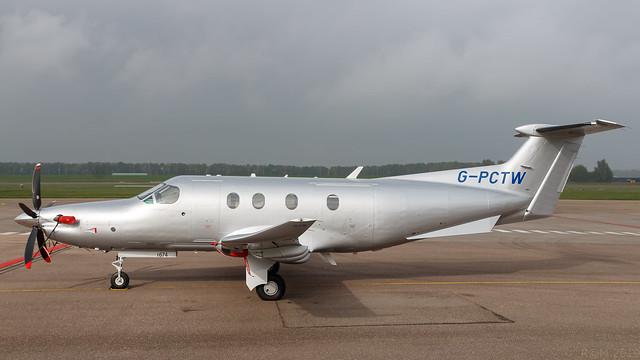 G-PCTW - Pilatus PC12 - EHLE - 20191022-1