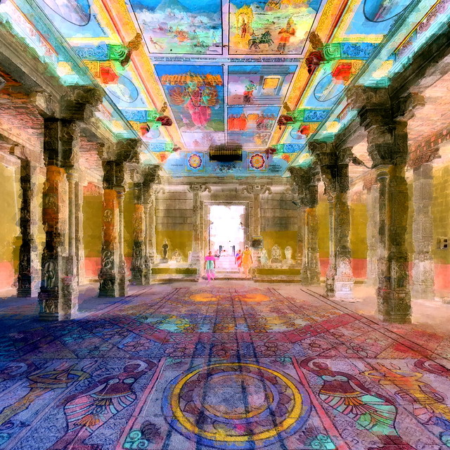 India - Tamil Nadu - Chidambaram - Nataraja Temple - 22cc