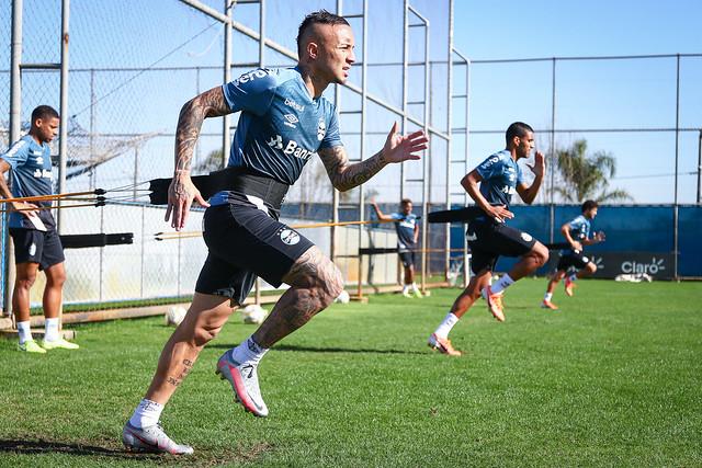 Treino Grêmio 24/06/2020
