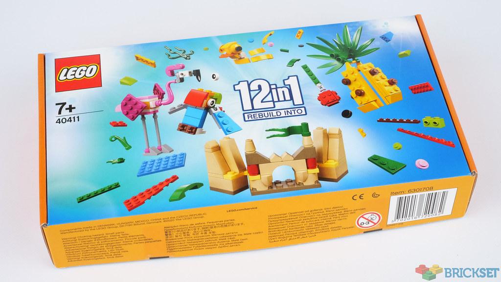 40411 Lego bâtiment 12in1 Set NEUF