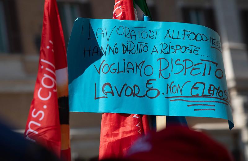 Manifestazione Unitaria Addetti Mense E Pulizie Scolastiche E Aziendali