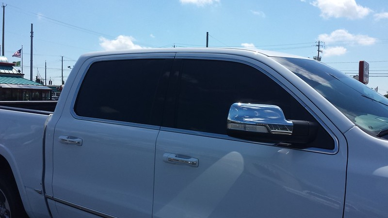 Pickup Truck Window Tinting
