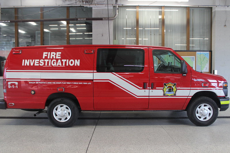 3027 (Fire Investigation Van)