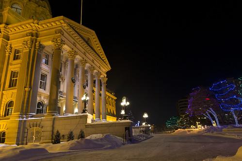 Alberta Legislature Lights
