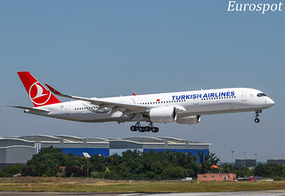F-WZGD Airbus A350 Turkish Airlines