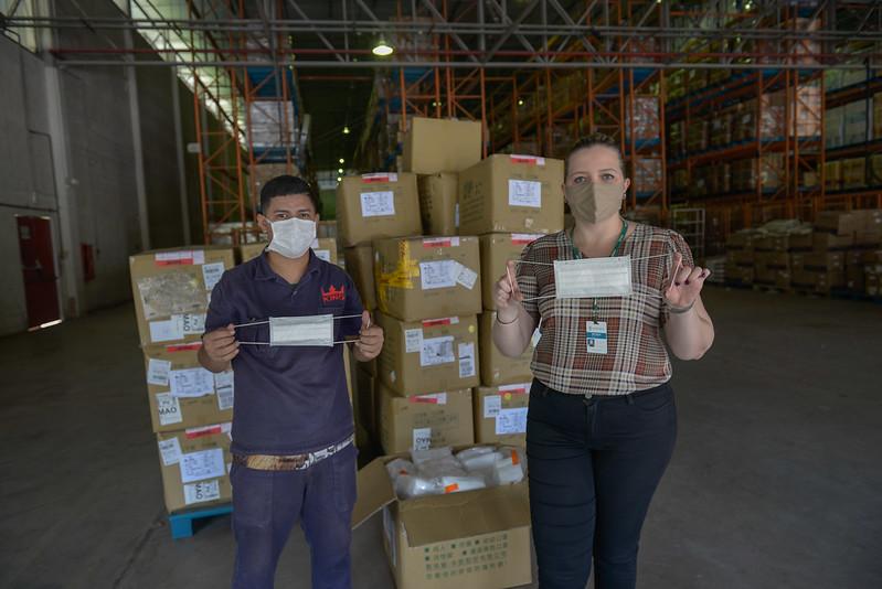 24.06.20 Doações de mascáras  Taiwan