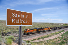 What used to be the Santa Fe railroad