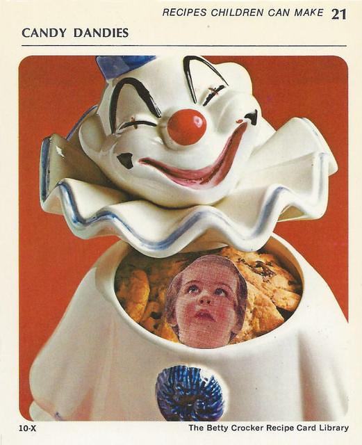 Creepy Clown Cookies