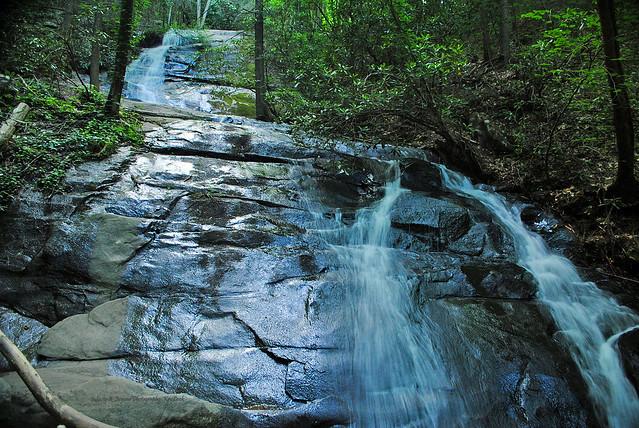 Fall Branch Falls. Blue Ridge, Georgia. *Explored*
