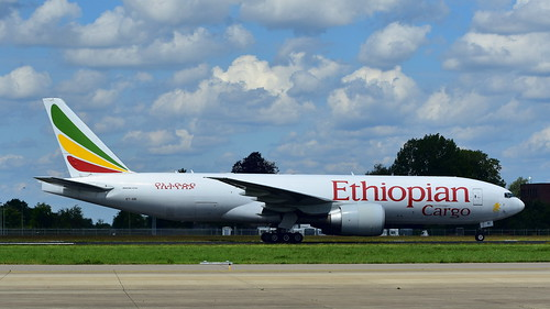 Boeing 777-F60 c/n 42032 Ethiopian Airlines registration ET-ARI | by Erwin's photo's