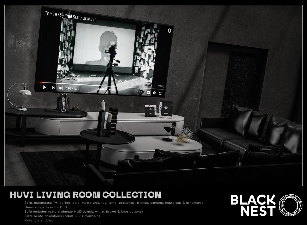 BLACK NEST / Huvi Living Room Collection / Uber