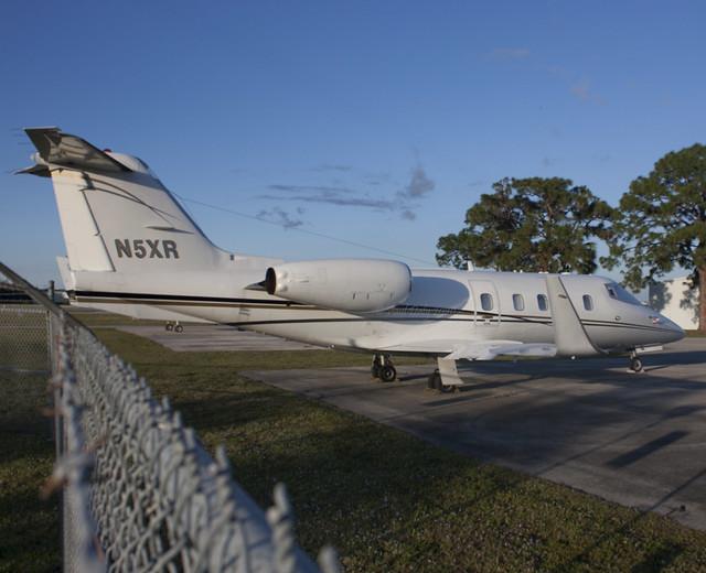 N5XR Learjet 55