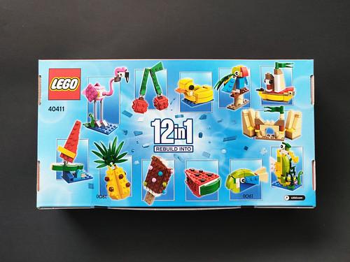 Creative Fun 12-in-1 NEW /& SEALED Pineapple Pink Flamingo Ice Cream LEGO 40411