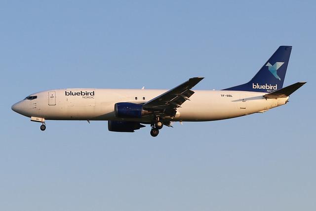 TF-BBL  -  Boeing 737-490(SF)  -  Bluebird Cargo  -  EMA/EGNX 24-6-20