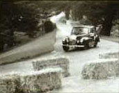 The raceway during one of the Alton Towers Rallies