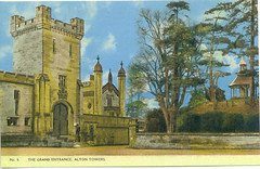 The Towers entrance and Dovecote