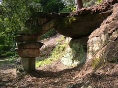 A rock arch carved near Slain Hollow (2)