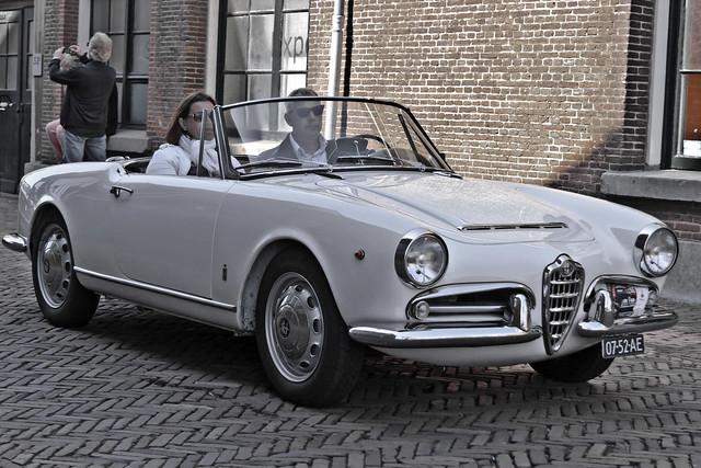 Alfa Romeo Giulia 1600 Spider 1962 (7728)