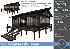 * M^2 * Japanese Lake House