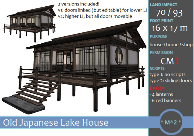 * M^2 * Japanese Lake House