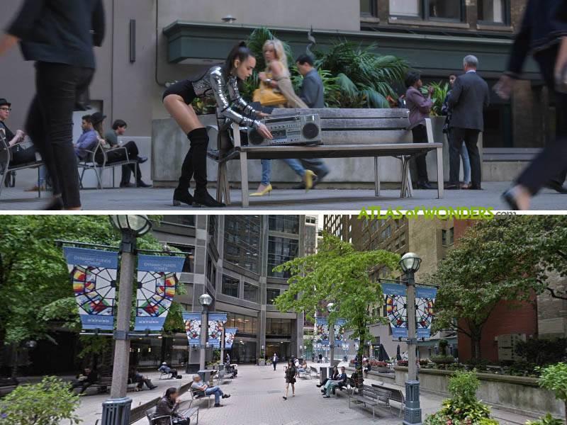 Scene in Toronto
