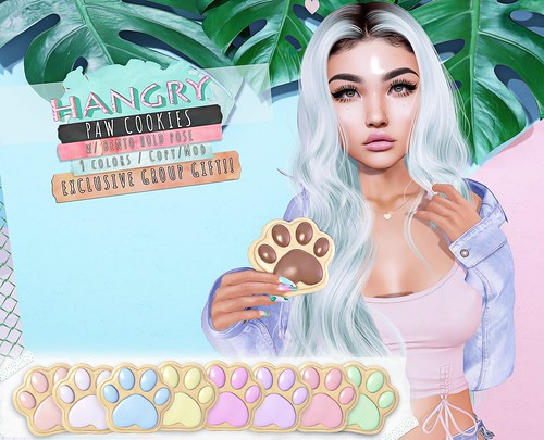 Hangry // Paw Cookies - VIP Group Gift!