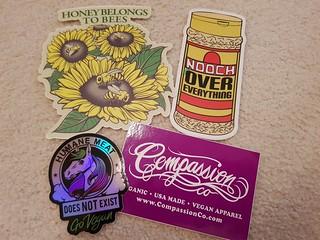 Compassion Co Stickers